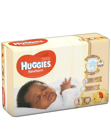 Huggies New born diapers (2-5kg) | 28pcs