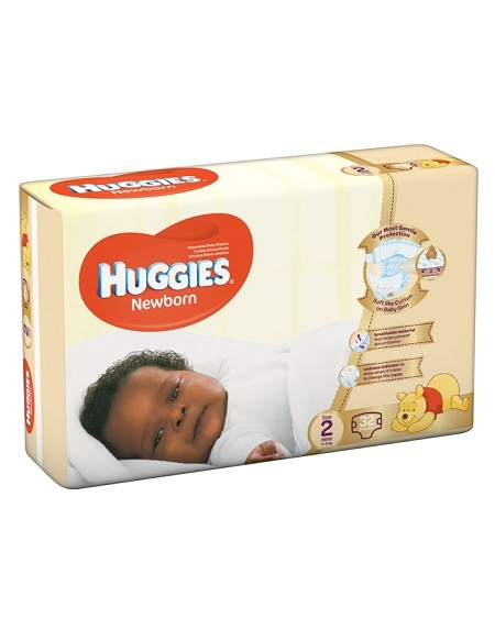 Huggies size 2 diapers (4-6kg) | 32pcs