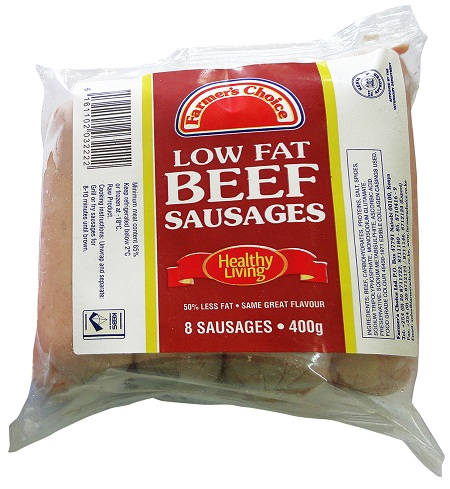 Low Fat Beef Sausage | 400 g