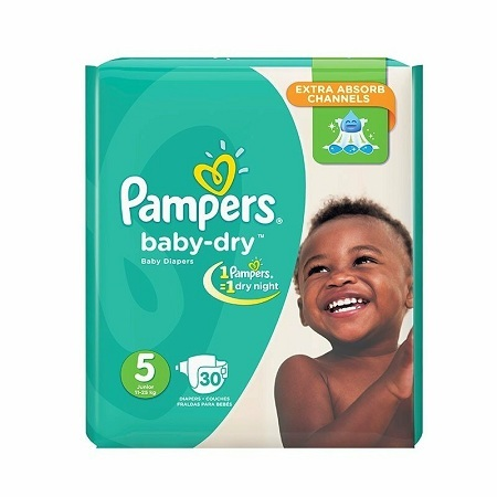 Pampers Baby Dry High Count
