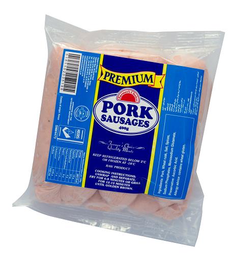 Premium Pork Sausages | 400g