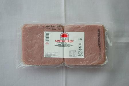 Sliced Sandwich Beef | 1kg