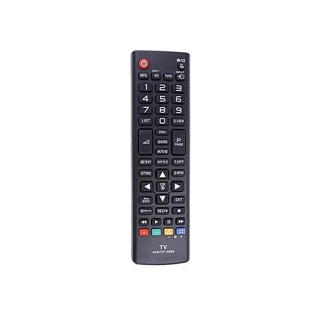 New Remote Control Replacement Part For LG AKB73715686 TV Remote Control (Black)