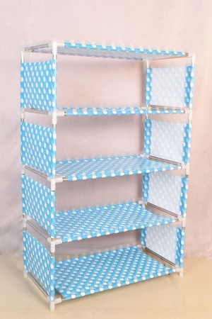 Multi-Layer Plastic Shoe Rack