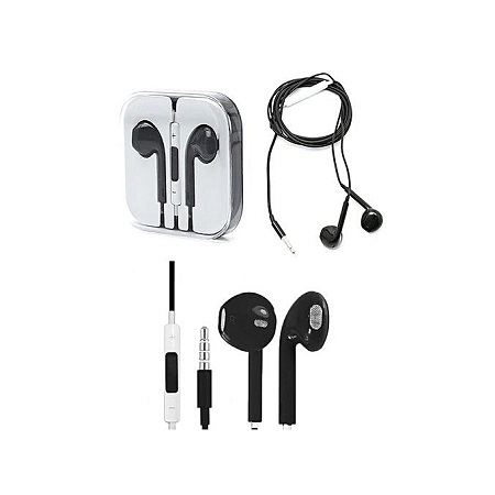 In-Ear Headset for Iphone & Android Devices - Black