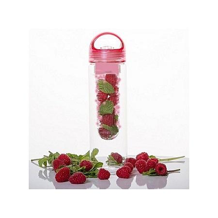 Sports Fruit Infusing Infuser Juice Bottle Water Bottle Cup Flip Lid