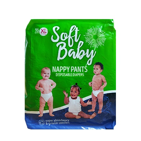 Soft Baby Premium Disposable Pull Up Pants- Extra Large