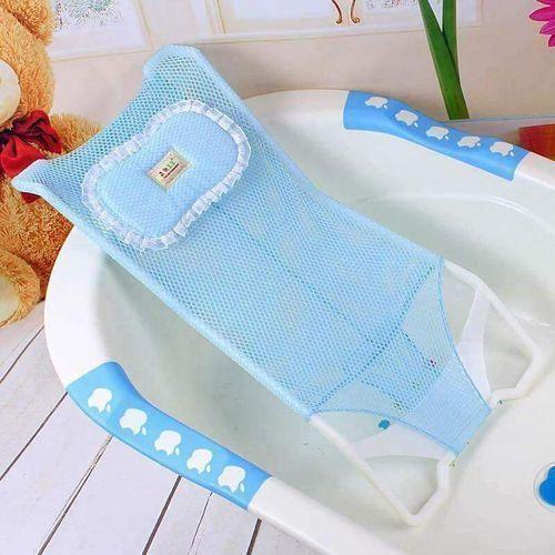 Baby and Infant Bathtub Seat Net Antiskid Shower Mesh Support Kids Safety Bath