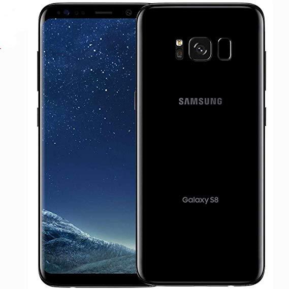 Samsung Galaxy S8: 5.8inch, 64GB ROM, 4GB RAM, 12MP, Single Sim - Midnight Black