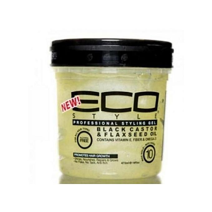 Eco Styler Eco Styler Black Castor & Flax Seed Oil Gel - 236ml