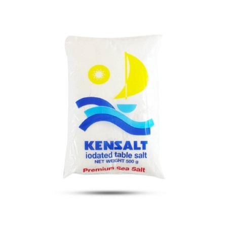 Kensalt Iodated Table Salt - 500g Kensalt