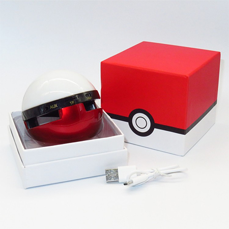 Pokemon Ball Wireless Bluetooth Speaker