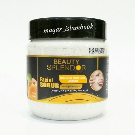 Beauty Splendor Facial Scrub - Exfoliate Facial Scrub Apricot with Lightening Agent