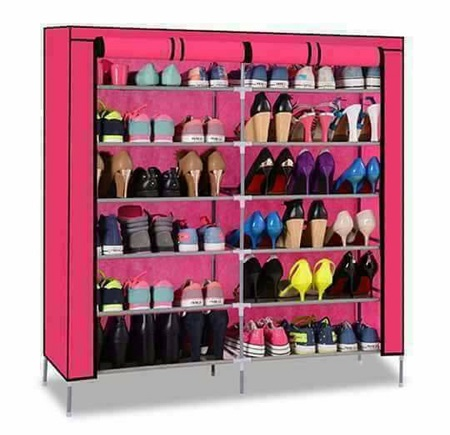 Portable Shoe Rack - 36 Pairs