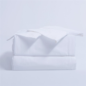 Plain White Paired Bedsheets