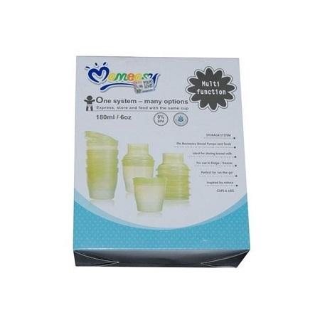 Mom Easy Multi functional Breast Milk Food Feeding System Storage Cups