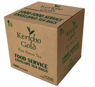 Kericho Gold Enveloped Tea Bags- 1000 Bags