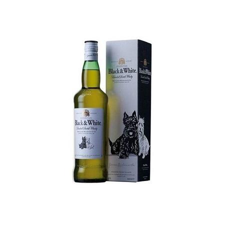 Black & White Blended Scotch Whisky - 750ml