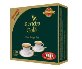 Kericho Gold Enveloped Tea Bags-100 Bags