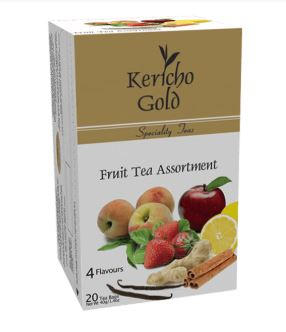 Kericho Gold 20 Fruit Tea Bags - 40g