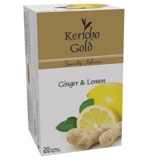 Kericho Gold Ginger & Lemon - 40g