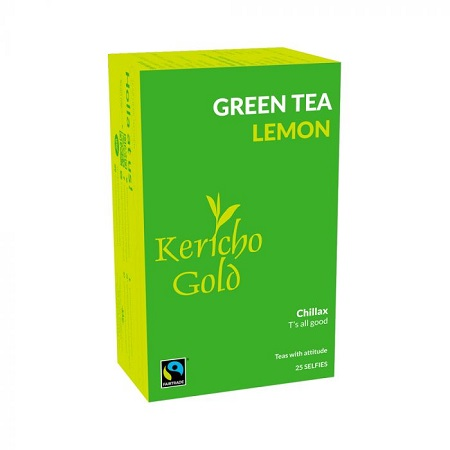 Kericho Gold Green Tea Lemon 25s