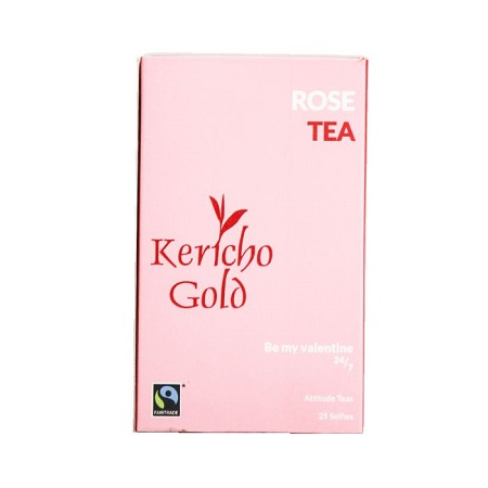 Kericho Gold Rose Tea 25 Tea Bags 300G