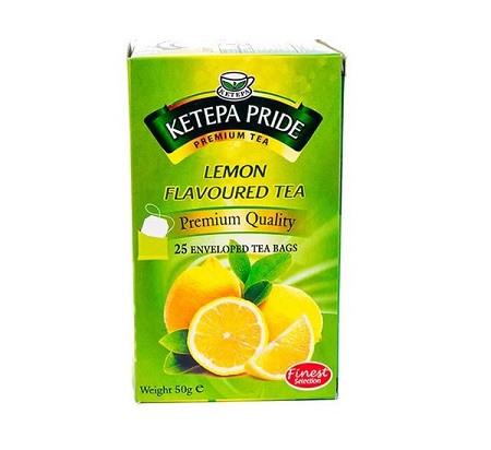 Ketepa Lemon Flavoured Tea Bags-50g