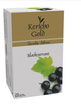 Kericho Gold 20 Black Currant Tea Bags - 40G