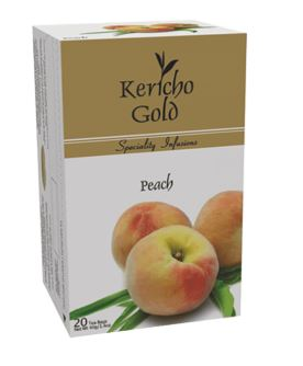 Kericho Gold Peach 20 Tea bags - 40g