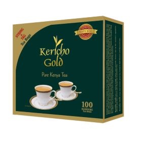 Kericho Gold String and Tag Tea Bags- 100pcs