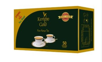 Kericho Gold String and Tag Tea Bags– 50pcs