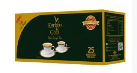 Kericho Gold String and Tag Tea Bags – 25pcs