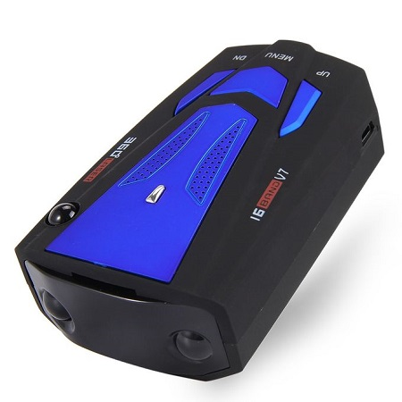 Anti-Police Radar Detector (Blue) for Car