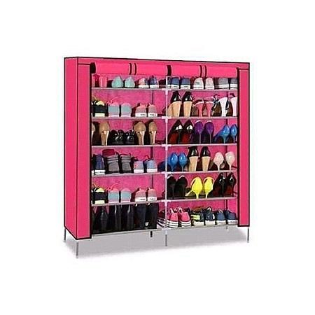 Generic Shoerack-Pink-36 Pairs