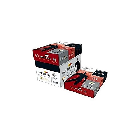 Paperline A4 Copier papers - Full Box-5 Reams - Each Ream 500 sheets – White