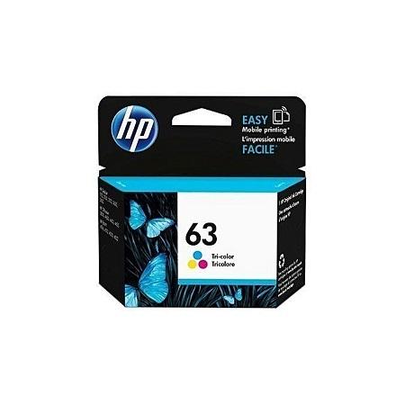 HP 63 – Tri-Color Ink Cartridge