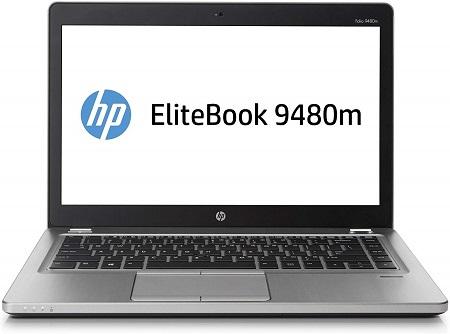 HP Refurbished Elitebook Folio 9480m: 14 inch, intel Core i5,  4GB RAM, 500GB HDD - Silver
