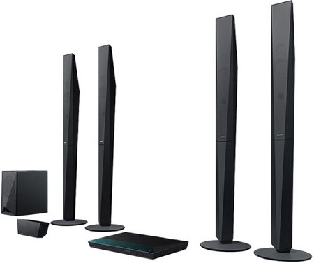 Sony BDV-E6100  5.1Ch Blu-Ray 3D Smart Home Theatre System  1000W - Black