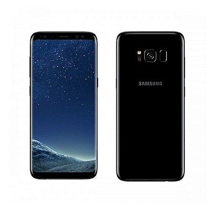 Samsung S8 Plus: 64GB - 4GB RAM - 12MP Camera - Black