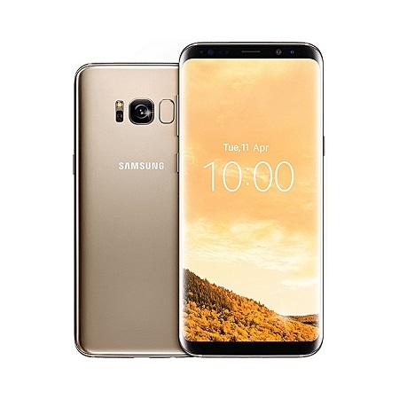 Samsung S8 Plus: 64GB - 4GB RAM - 12MP Camera - Gold