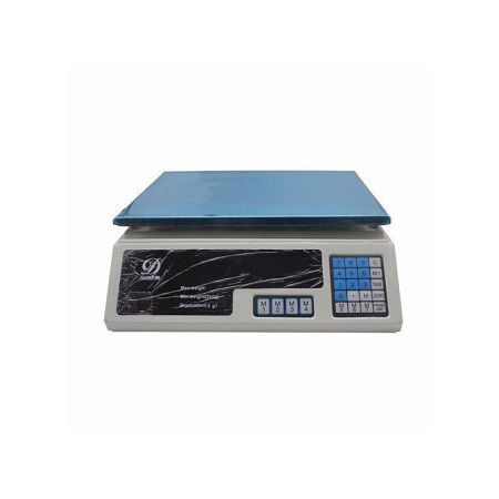 Digital Scale Electronic Market Balance Weighing Machine for Fruits,Meats,Vegetables Price -30KG white normal
