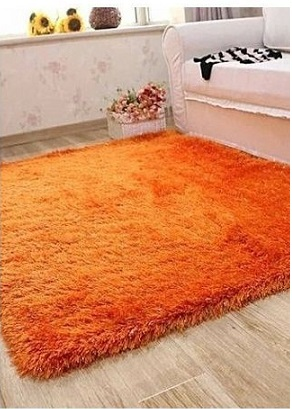Fluffy Smooth Home, Bedroom or Living Room Carpet Rug