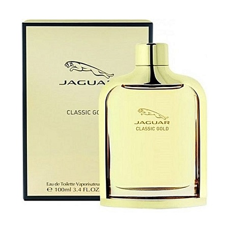 Classic Gold by Jaguar for Men - Eau de Toilette, 100ml
