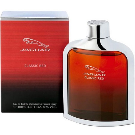 Classic Red by Jaguar for Men - Eau de Toilette, 100ml