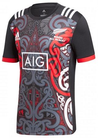 New Zealand Maori All Blacks 2018 Replica Performance Jersey Multicolour