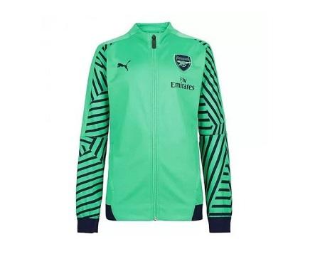 Arsenal Unisex Authentic REPLICA Anthem Trainer Jacket 2018-2017 Away