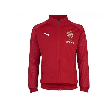 Arsenal Unisex Authentic REPLICA Anthem Trainer Jacket 2018-2017 Home