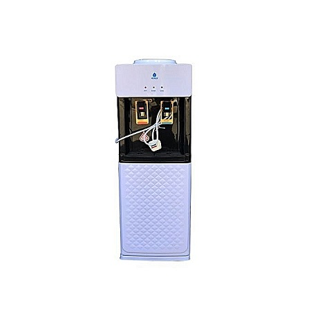 Nunix Hot and Normal Free Standing Water Dispenser K8 - White & Black + FREE Earphone Cable Protector