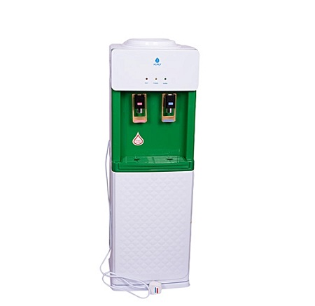 Nunix Hot and Normal Free Standing Water Dispenser- Green
